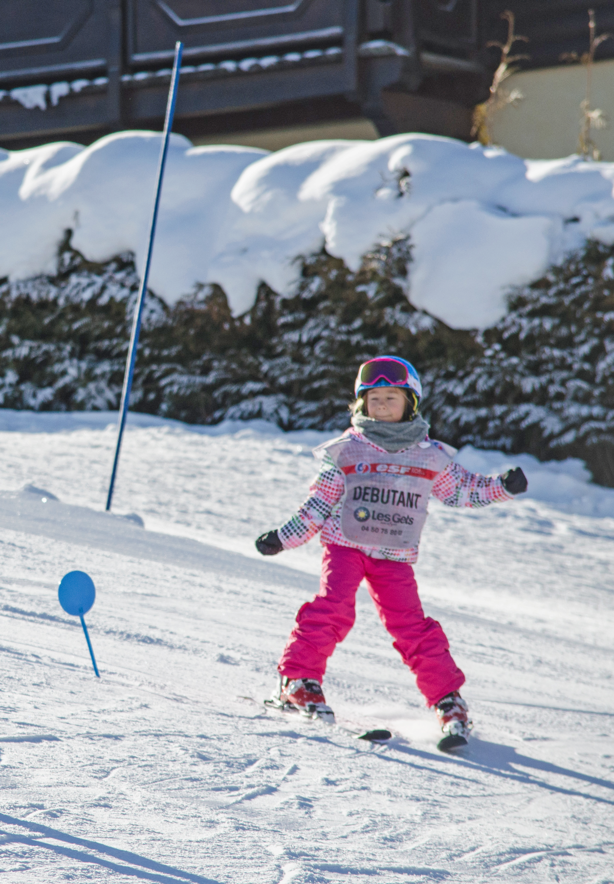Group ski lessons with ESF for children