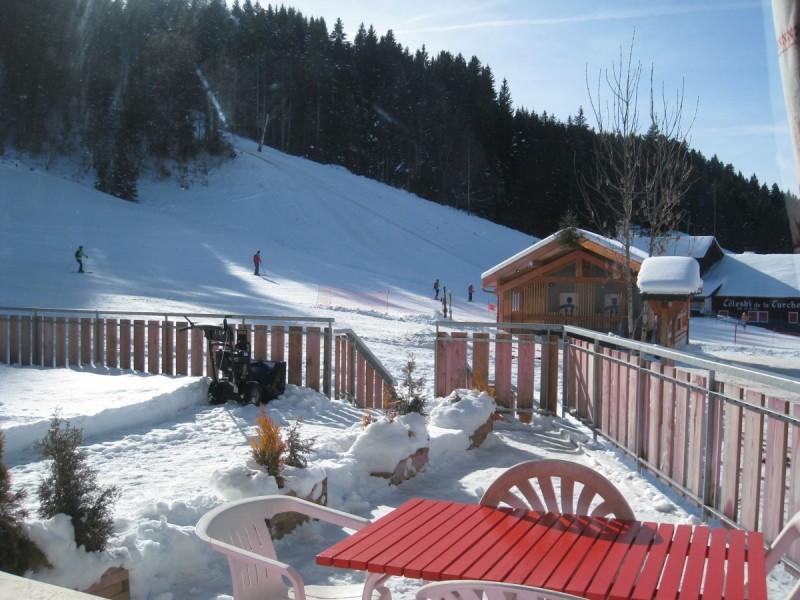studio for rent in Les Gets ski resort