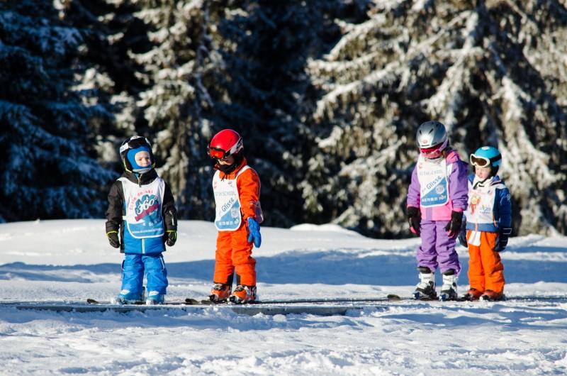 Уроки в горнолыжной школе