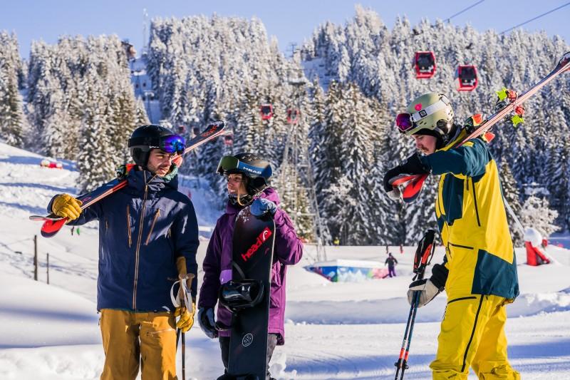 Ski material rental