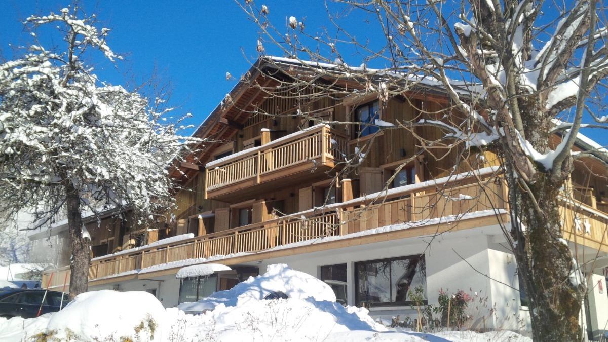 Hotel La Bonne Franquette - Les Gets - exterieur en hiver