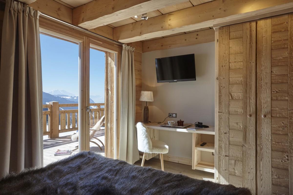 Hotel-Lodge-Le-Chasse-Montagne-chambre-duplex-superieur-location-appartement-chalet-Les-Gets