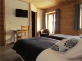 Chambre d'hôte Chez La Fine - Les Gets - chambre twin