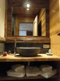 Chambre d'hôte Chez La Fine - Les Gets - salle de bain