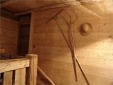 Chambre d'hôte Chez La Fine - Les Gets - deco - anciens outils