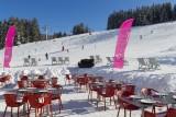 Hotel-Crychar-terrasse-vue-piste-location-appartement-chalet-Les-Gets