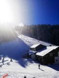 Hotel-Grande-Laniere-vue-piste-hiver-location-appartement-chalet-Les-Gets
