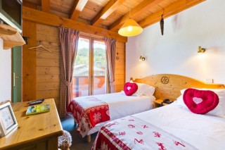 Hotel Aiguille Blanche - chambre