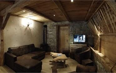 Chambre d'hôte Chez La Fine - Les Gets - salon