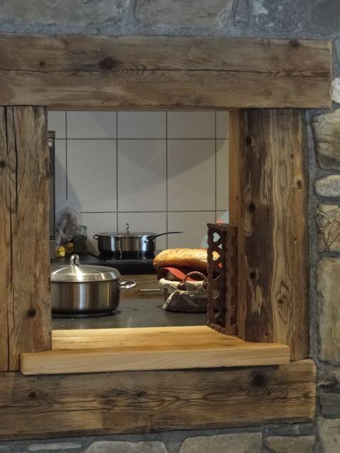 Chambre d'hôte Chez La Fine - Les Gets - cuisine