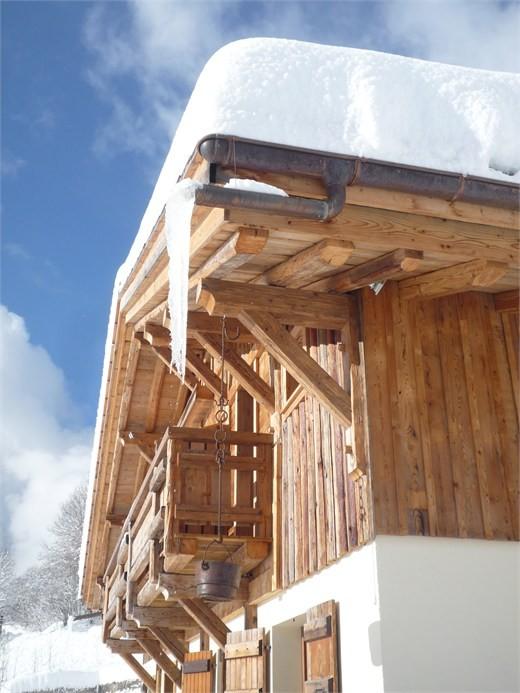 Chambre d'hôte Chez La Fine - Les Gets - exterieur en hiver