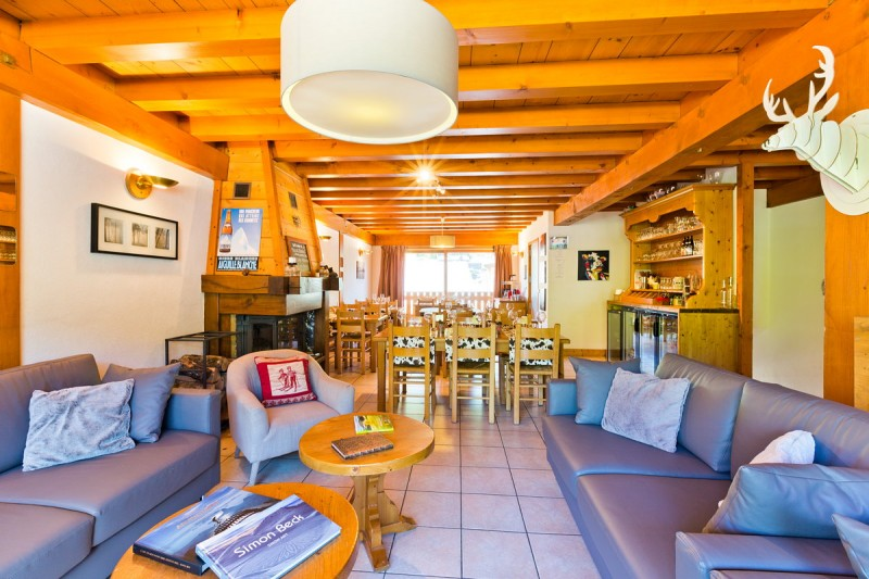 Hotel Aiguille Blanche - lounge