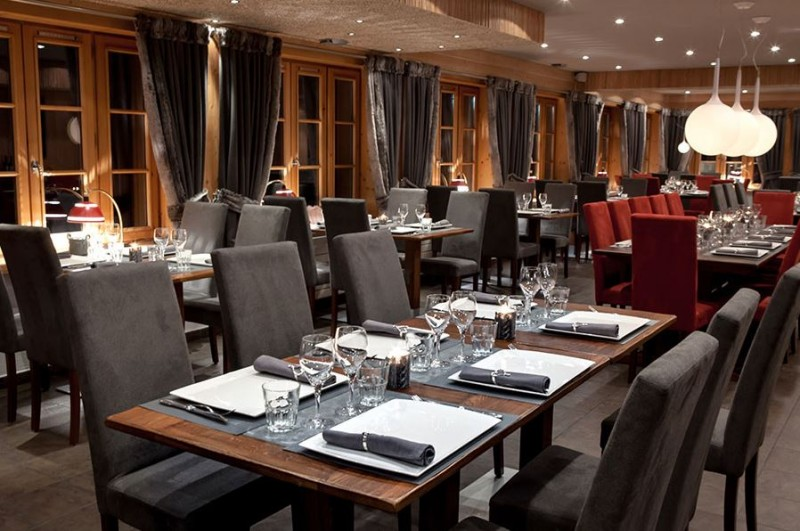 Hotel Bellevue - Les Gets - restaurant