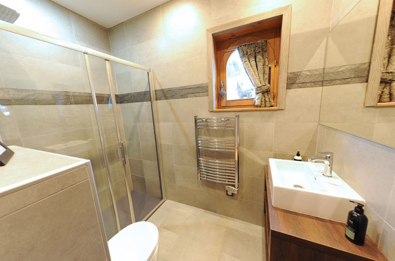 Hotel Bellevue - Les Gets - bath room