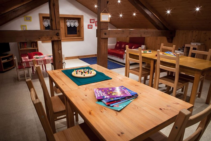 Hotel Bellevue - Les Gets - games room