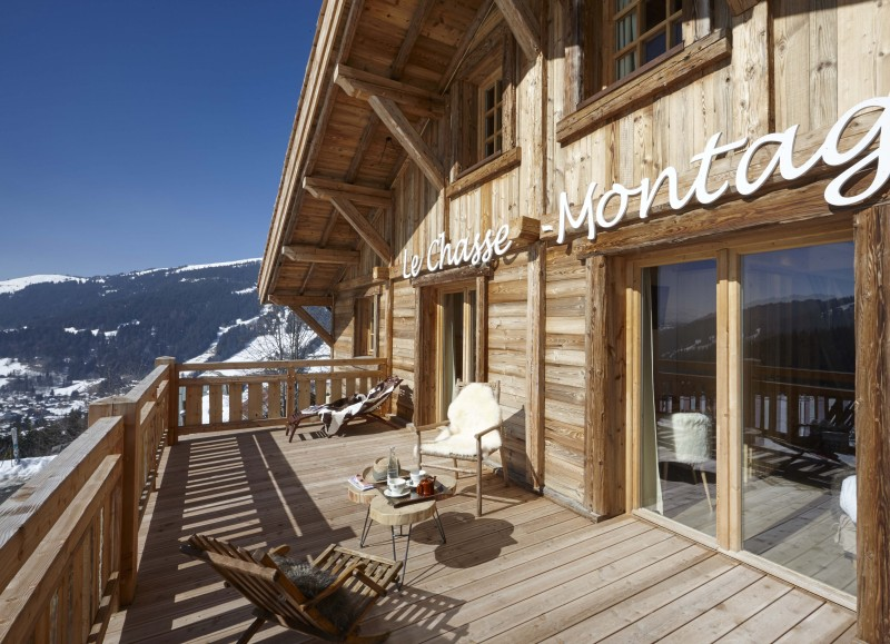 Hotel Lodge Le Chasse Montagne - Les Gets - balcony