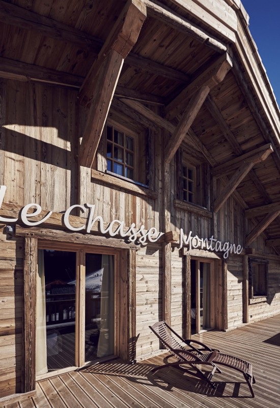 Hotel Lodge Le Chasse Montagne - Les Gets - the hotel in the summer