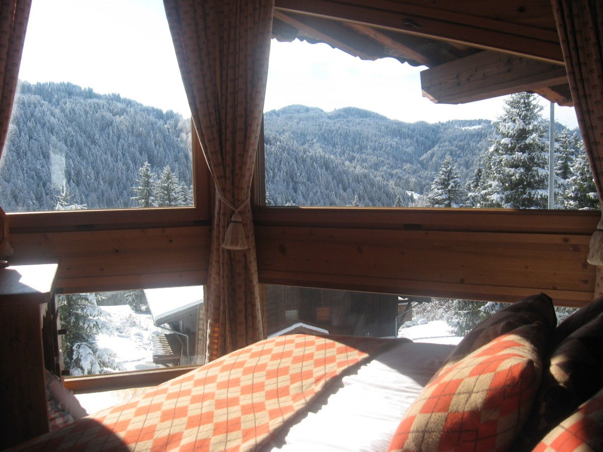 Camomille-chambre-double-location-appartement-chalet-Les-Gets