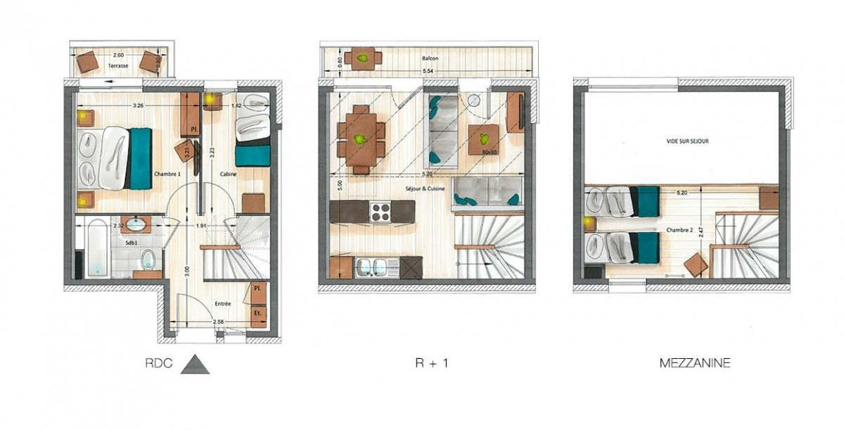 Kailash-B2-plan-location-appartement-chalet-Les-Gets