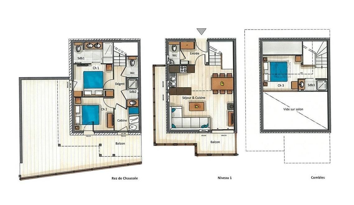 Kilimandjaro-2A-plan-location-appartement-chalet-Les-Gets