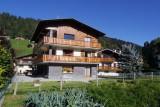 Aiglon-1-exterieur-ete-jardin-location-appartement-chalet-Les-Gets