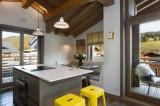 Annapurna-A301-cuisine-ilot-central-location-appartement-chalet-Les-Gets