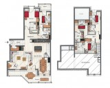 Annapurna-A302-plan-location-appartement-chalet-Les-Gets