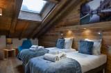 Annapurna-B302-chambre-lit-simple-location-appartement-chalet-Les-Gets