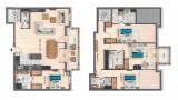 Annapurna-B302-plan-location-appartement-chalet-Les-Gets
