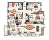 Annapurna-B304-plan-location-appartement-chalet-Les-Gets