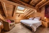 Arolle-Ourson-chambre-double4-location-appartement-chalet-Les-Gets