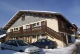 Chamioret-5-Pensee-exterieur-hiver1-location-appartement-chalet-Les-Gets