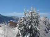 Chez-Rose-vue-hiver-location-appartement-chalet-Les-Gets