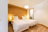 Le-Grand-Pre-chambre-lits-simples-location-appartement-chalet-Les-Gets