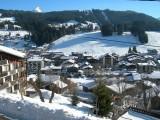 Lou-Paradou-vue-hiver-location-appartement-chalet-Les-Gets