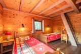 Marcelly-16-chambre-lits-simples-location-appartement-chalet-Les-Gets