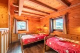 Marcelly-16-chambre-lits-simples2-location-appartement-chalet-Les-Gets
