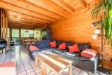 Telemark-salon-location chalet appartement Les Gets