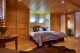 Vinson-chambre-lit-double7-location-appartement-chalet-Les-Gets