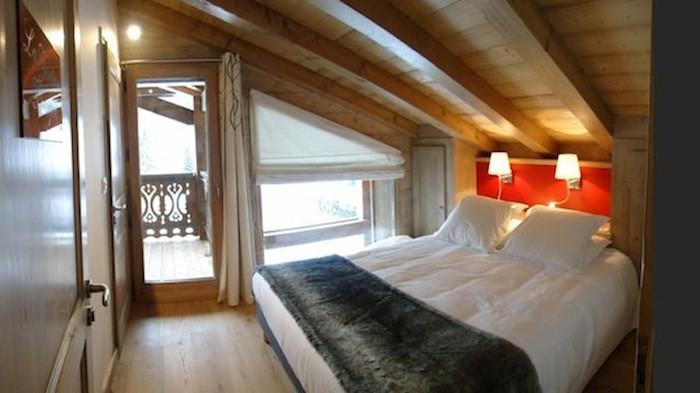 Adelphine-3-chambre-lit-double-location-appartement-chalet-Les-Gets