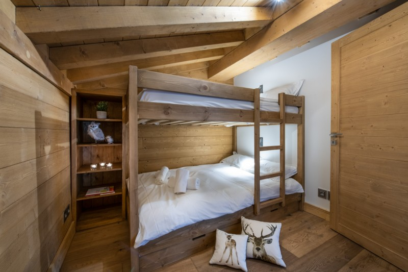 Annapurna-303-chambre-lits-superposes-location-appartement-chalet-Les-Gets