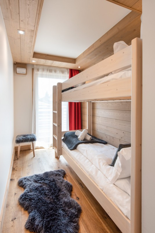 Annapurna-A102-chambre-lits-superposes-location-appartement-chalet-Les-Gets