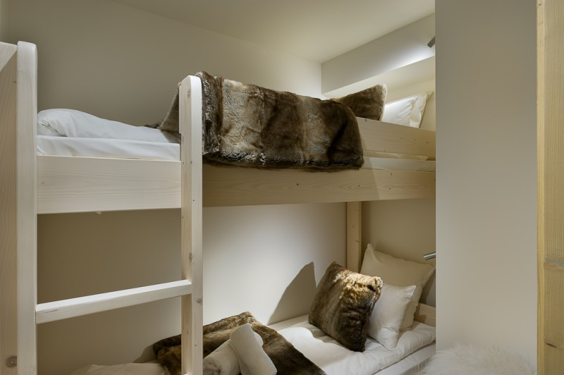 Annapurna-A201-chambre-lits-superposes2-location-appartement-chalet-Les-Gets