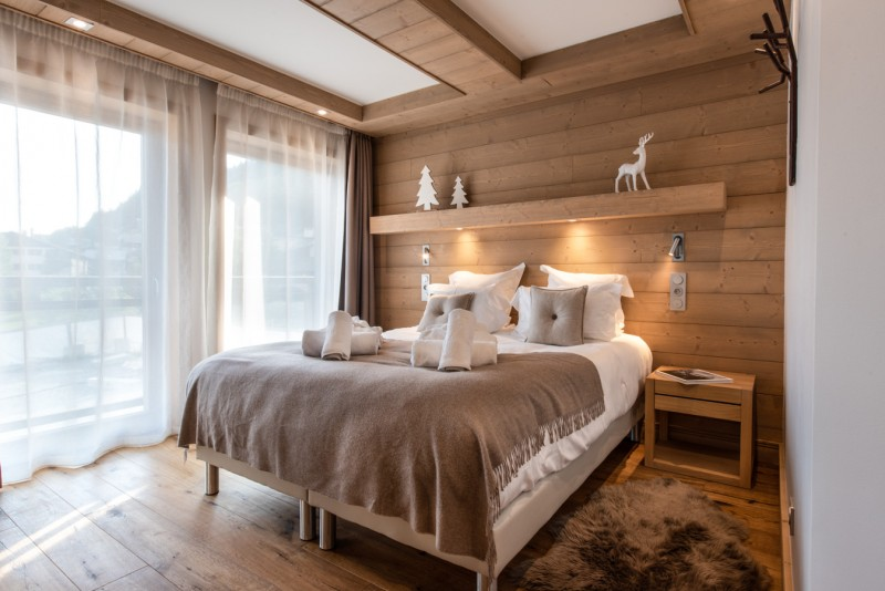 Annapurna-A202-chambre-double2-location-appartement-chalet-Les-Gets