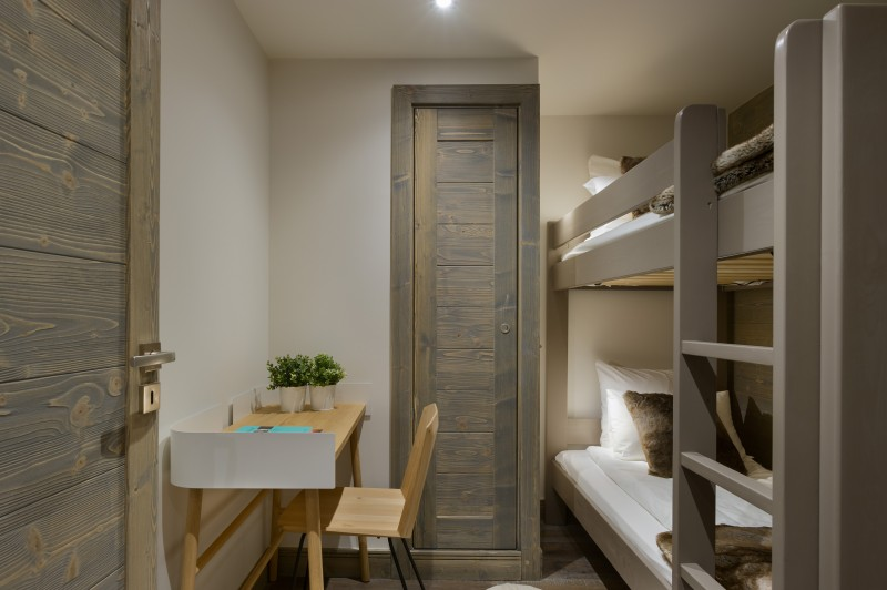 Annapurna-A204-chambre-lits-superposes-location-appartement-chalet-Les-Gets
