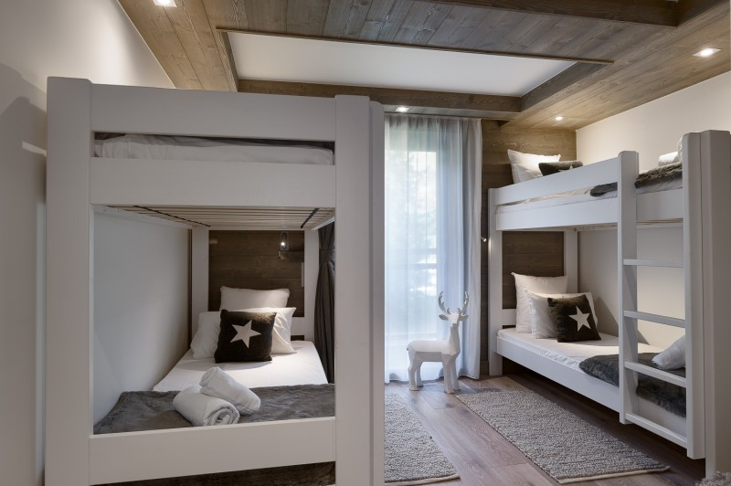 Annapurna-A302-chambre-lits-superposes-location-appartement-chalet-Les-Gets
