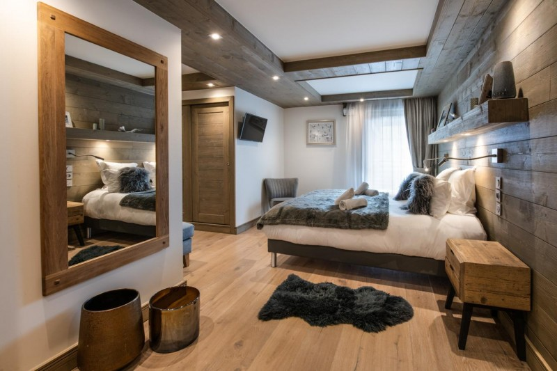 Annapurna-B101-chambre-double2-location-appartement-chalet-Les-Gets