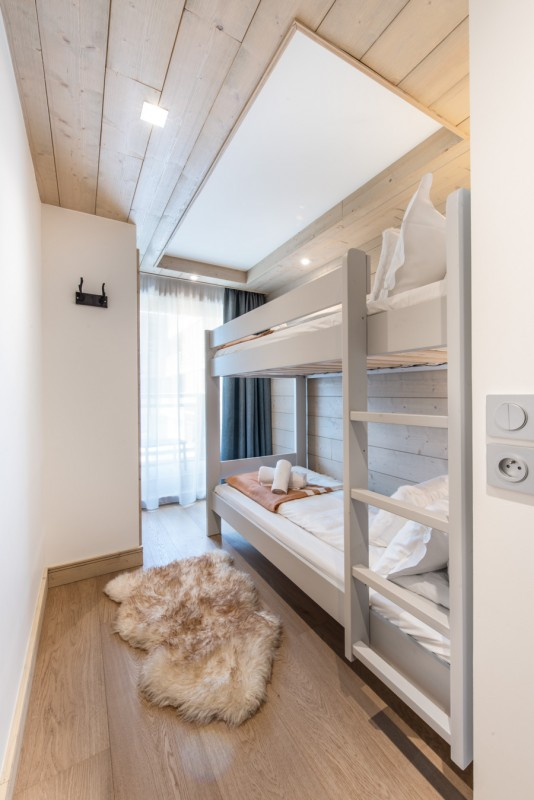 Annapurna-B105-chambre-lits-superposes-location-appartement-chalet-Les-Gets
