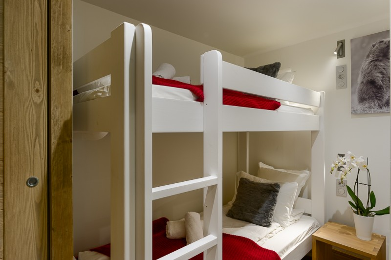 Annapurna-B203-chambre-lits-superposes-location-appartement-chalet-Les-Gets