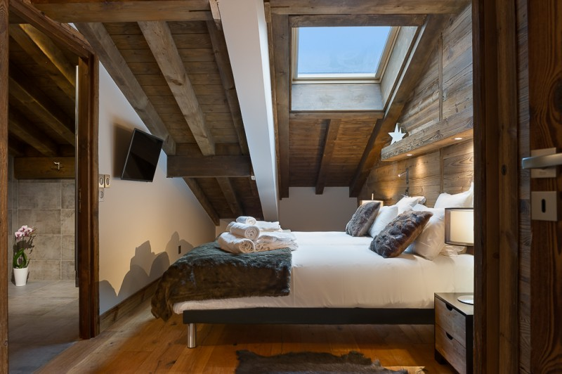 Annapurna-B302-chambre-double2-location-appartement-chalet-Les-Gets